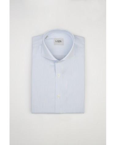 chemise homme de luxe haut de gamme : Chemise homme bleu clair