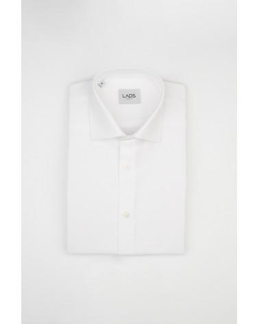 chemise homme de luxe haut de gamme : Chemise homme blanche oxford
