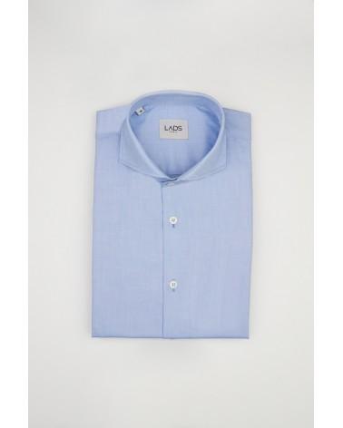 chemise homme de luxe haut de gamme : Chemise homme bleu royal Oxford