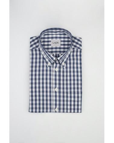 chemise homme de luxe haut de gamme : Chemise homme casual vichy