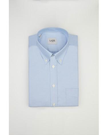chemise homme de luxe haut de gamme : Chemise homme casual oxford bleu