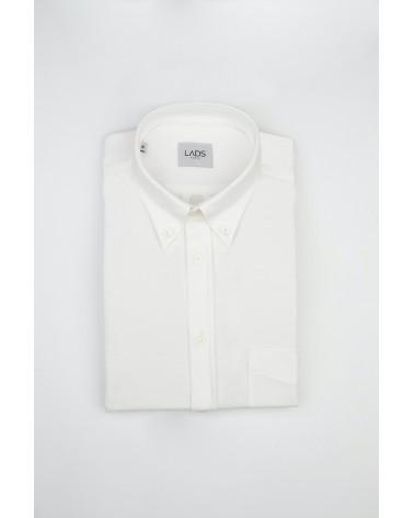 chemise homme de luxe haut de gamme : Chemise homme casual blanche polo